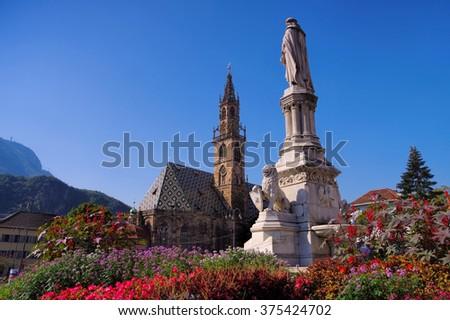 Bolzano in Alto Adige, Italy - stock photo