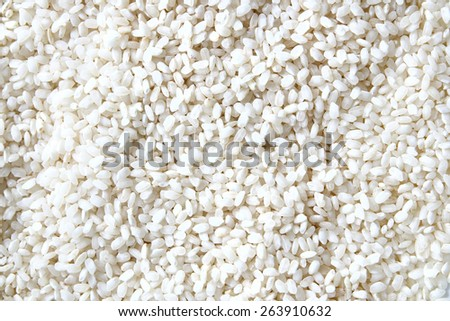 Bomb white rice background. - stock photo