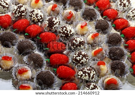Bonbon chocolate - stock photo