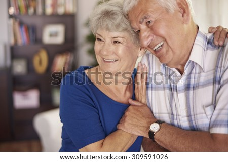 Bond between them is very strong - stock photo