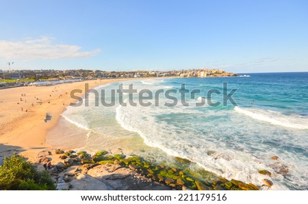 Bondi Beach , Australia - stock photo