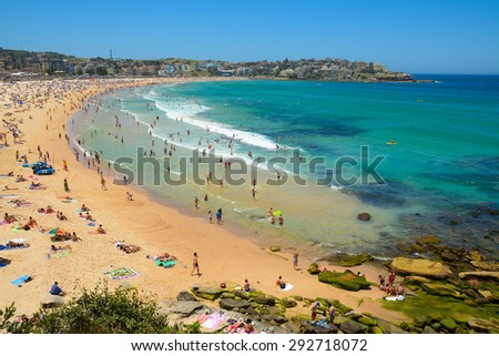 Bondi Beach, NSW - stock photo