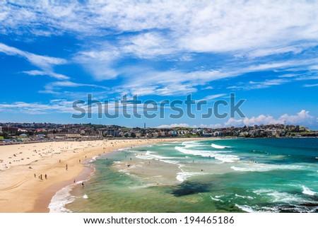 Bondi Beach, Sydney Australia - stock photo