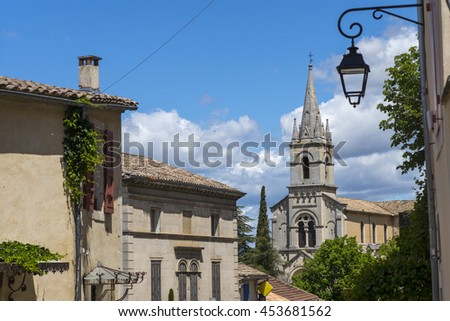 Bonnieux in  Provence, France - stock photo