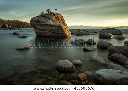 Bonsai Rock - stock photo