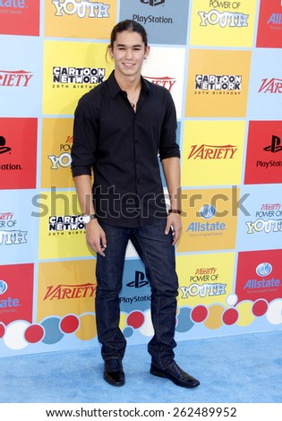 Booboo Stewart at the Variety's 6th Annual Power Of Youth held at the Paramount Studios in Hollywood on September 15, 2012. - stock photo