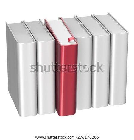 Textbook Stack Gold Book Blank Literature Stock Illustration