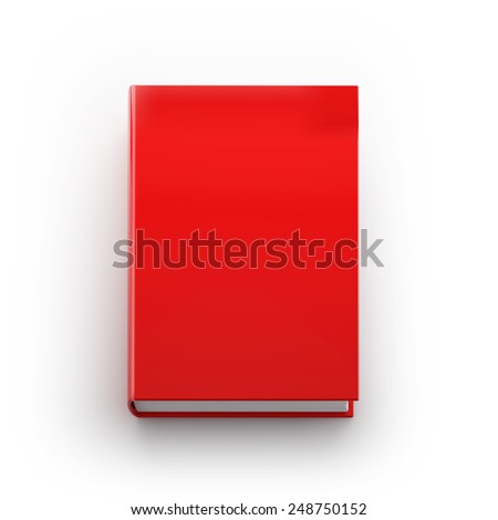 Book cover template - stock photo