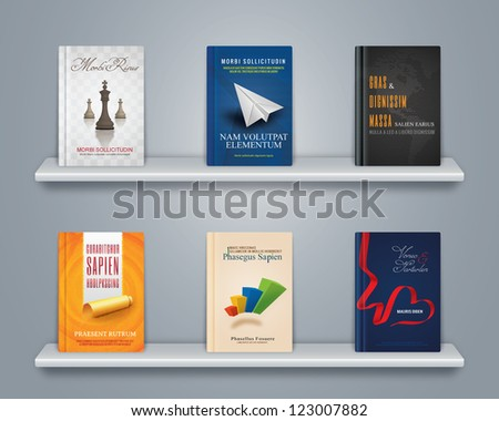 book covers - stock photo