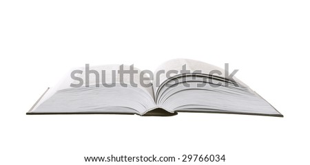 Book isolated