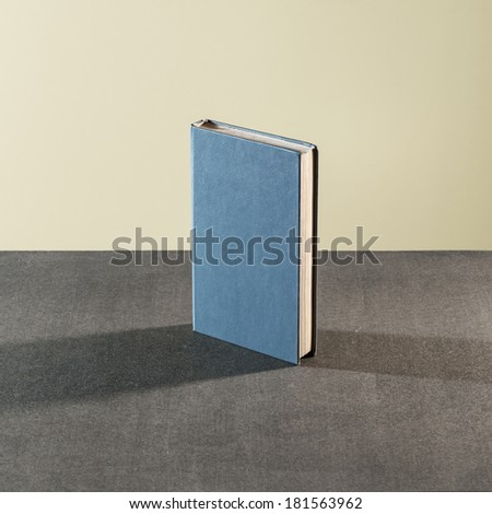 Book on the table - stock photo