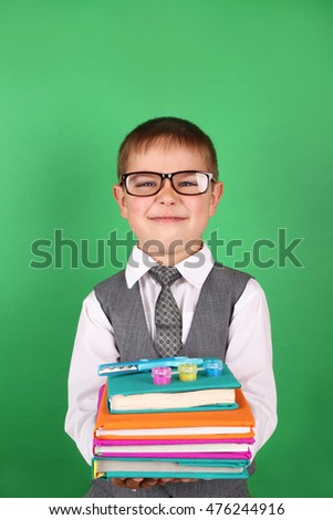 The boy at the back of the class book