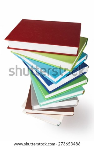 Book, Stack, Education.