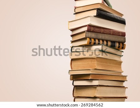 Book, Stack, Textbook.