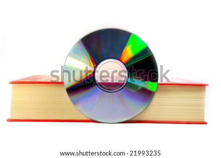 book with a digital cd