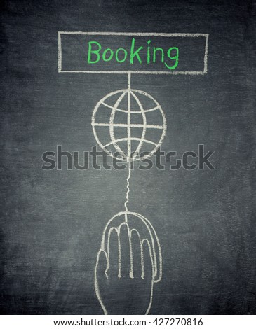 Booking - stock photo