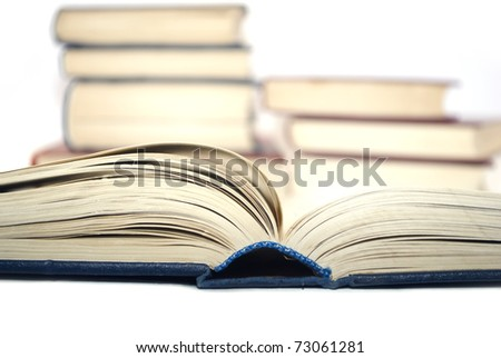 books - stock photo