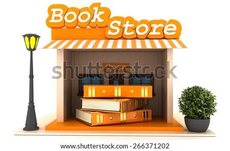 BOOKSTORE - stock photo
