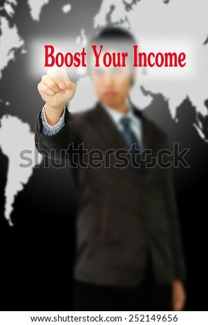 Boost Your Income - stock photo
