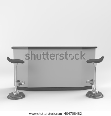 booth with chairs