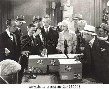 Bootleggers - stock photo