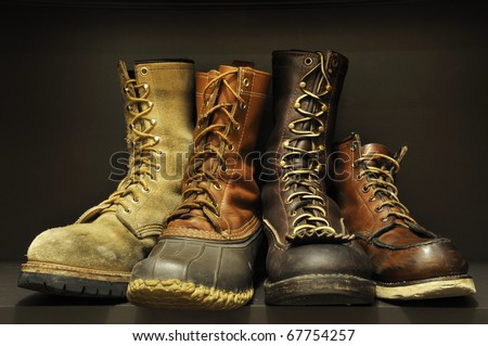 boots-4 - stock photo
