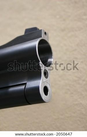 bore shotgun - stock photo