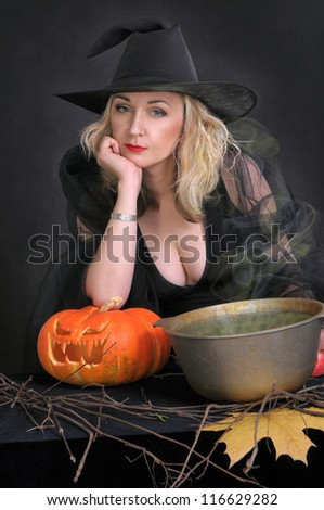 Bored witch