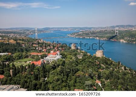Bosphorus view  - stock photo