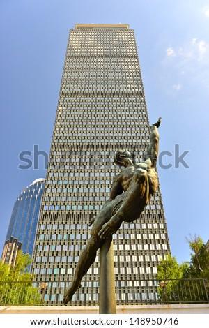 Boston Prudential Tower, MA, USA - stock photo