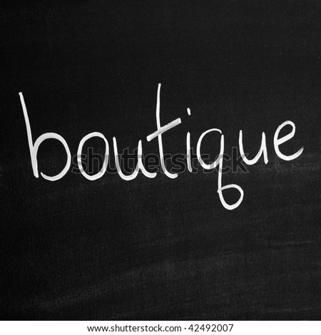 Botique wines
