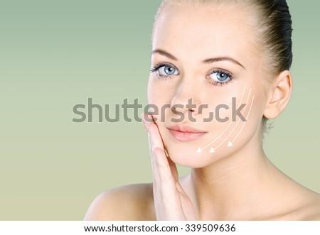 Botox. - stock photo