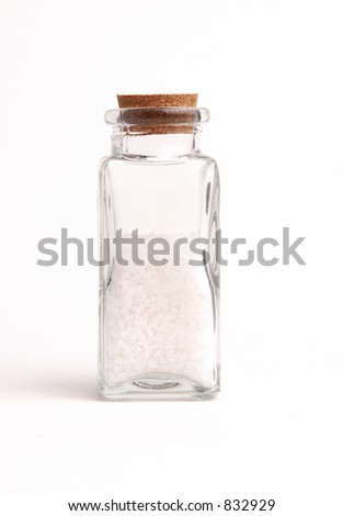 Bottle of Sea Salt