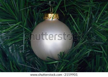 boule blanche de decoration de noel - Decoration De Noel Blanche
