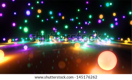 Bouncing light balls background can be use for any fashion theme and graphic design .