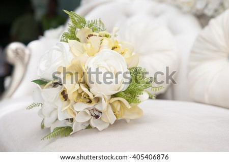 bouquet of flowers. for malay wedding ceremony
