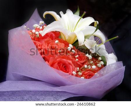 Bouquets - stock photo
