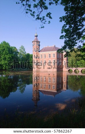 Bouvigne Castle in Breda Netherlands - stock photo