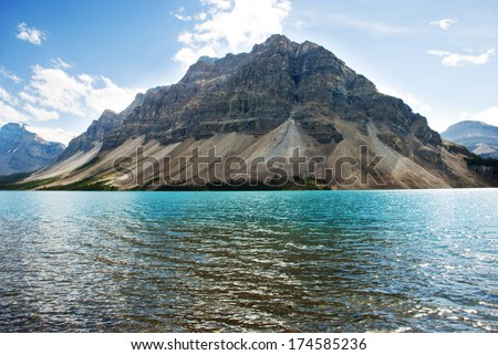 Bow Lake , Banff National Park, Alberta, Canada