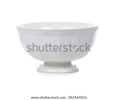 bowl isolated on white background