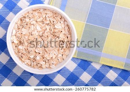 bowl of corn flakes - stock photo