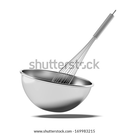Whisk In Bowl