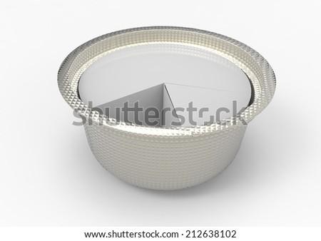 bowls - stock photo