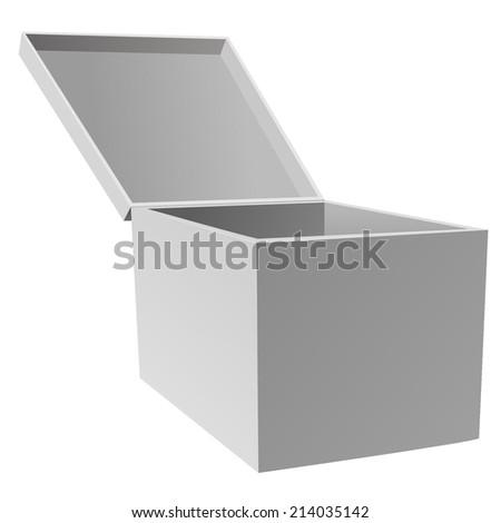 Box. - stock photo