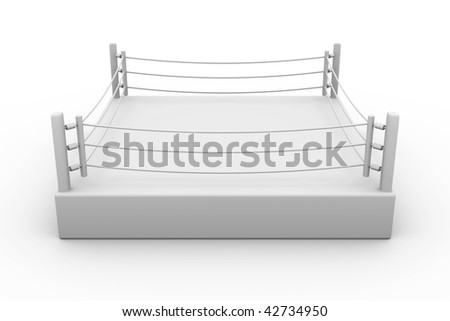 Box ring - stock photo