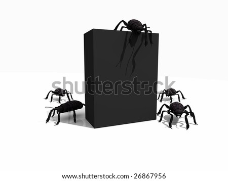 box with bugs