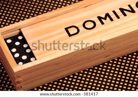 Playing Dominoes Game Stock Images Royalty Free Images