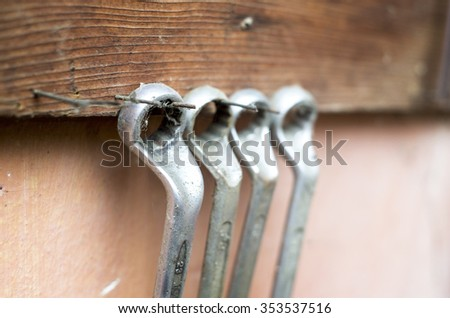 Box Wrench - stock photo