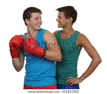 Boxing friends