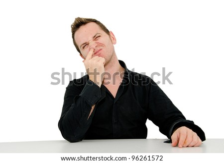 Boy in action - stock photo
